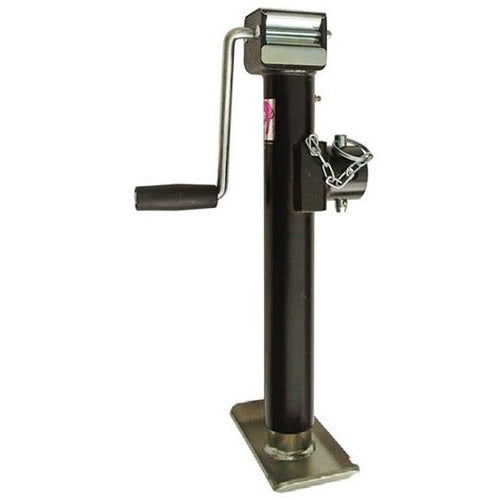 RAM Pipe Mount Jack - 2k Trailer Jack 2000 lb Side Wind