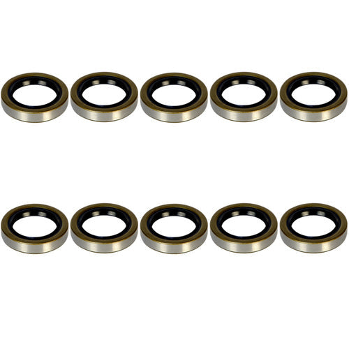 3.5-4.4k Trailer Axle Grease Seal - 3500-4400 lb capacity - 10-19 - (10 Pack)
