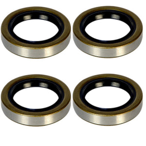 3.5-4.4k Trailer Axle Grease Seal - 3500-4400 lb capacity - 10-19 - (4 Pack)