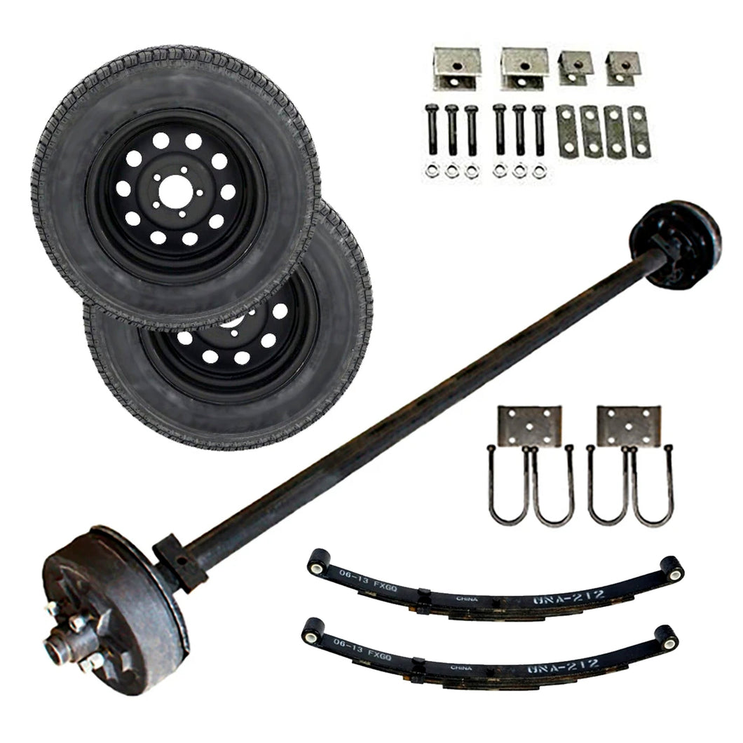 3500 lb TK Tandem Axle Trailer Parts Kit - 7K Capacity LD (Complete Original Series)