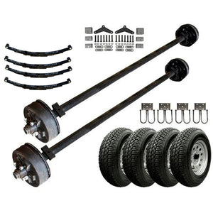 3.5k Heavy Duty Tandem Axle TK Trailer kit - 7000 lb Capacity (Original Series)