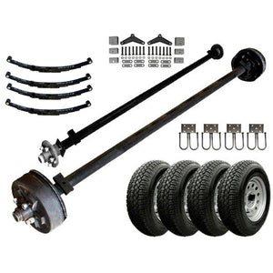 3.5k Light Duty Tandem Axle TK Trailer kit - 7000 lb Capacity (Original Series)