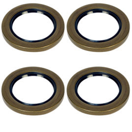 5.2-8k Trailer Axle 2.25in Grease Seal - 5200-8000 lb capacity - 10-36 - (4 Pack)