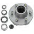 52K Pregreased Galvanized Hub Assembly 6x55