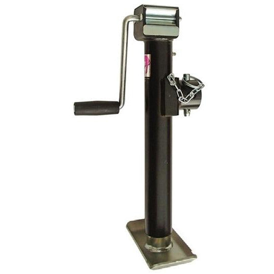 Pipe Mount 5k Trailer Jack - 5000 lb Side Wind