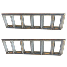 "Pair of 2"" Angle Iron Steel Loading Ramps (5,000 lb Capacity)"