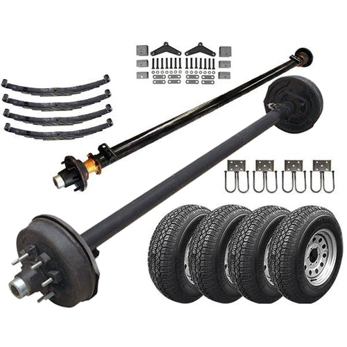 7k Light Duty Tandem Axle TK Trailer kit - 14000 lb Capacity (Original Series)