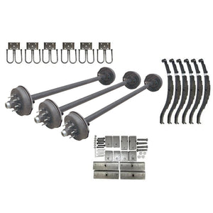 7000 lb TK Triple Axle Kit - 21K Capacity (Axle Series)
