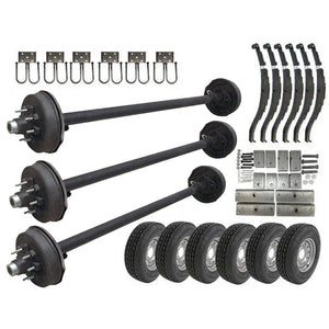 7000 lb Triple Axle TK Trailer Kit - 21K Capacity - (Original Series)