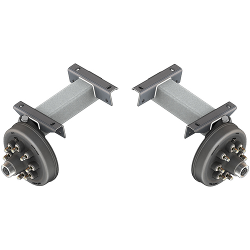 Flexiride 7000 lb Adjustable Torsion Half Axle - (Pair)
