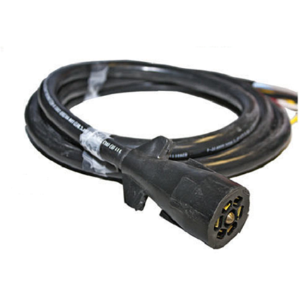 7 way plug with Molded 8 Cable