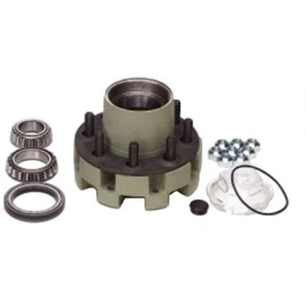 9-10KGD Trailer Axle Hub Assembly - 8 lug
