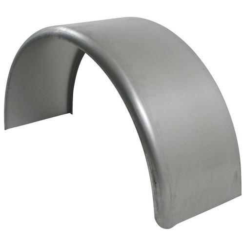Single Axle 9x32 Smooth Steel Rolled Fender