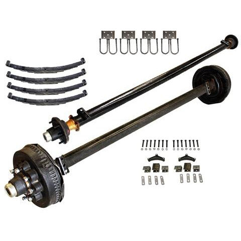 7000 lb TK Tandem Axle LD Kit - 14K Capacity (Axle Series)