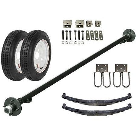 2k Single Axle TK Trailer kit - 2000 lb Capacity (Original Series)