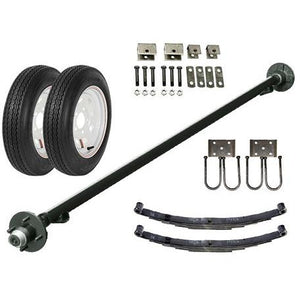 2k Single Axle TK Trailer kit - 2000 lb Capacity