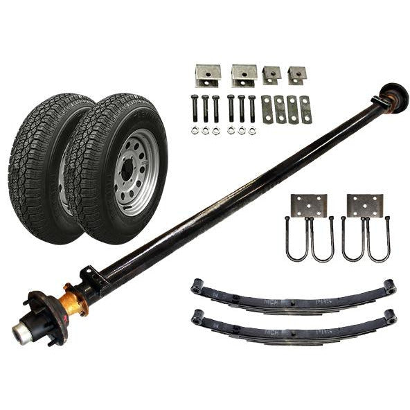 5.2k Single Axle TK Trailer kit - 5200 lb Capacity