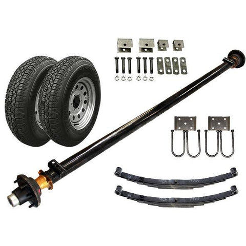 52k Single Axle TK Trailer kit 5200 lb Capacity