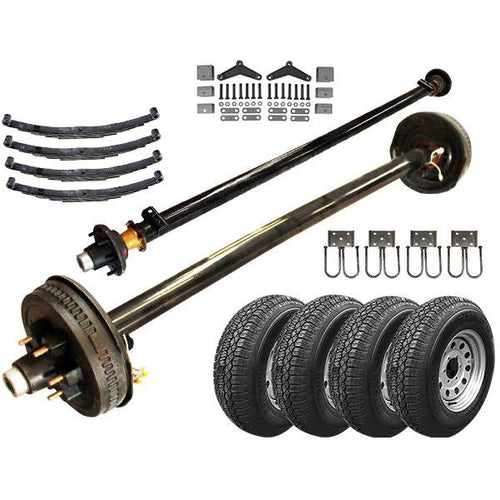 5200 lb Light Duty Tandem Axle TK Trailer Kit - 10.4K Capacity - (Original Series)
