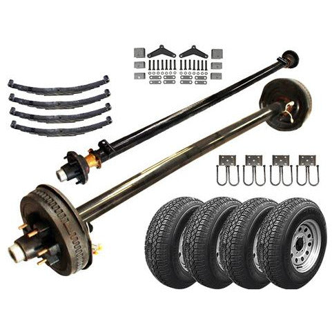 6k Tandem Axle LD TK Trailer kit - 12000 lb Capacity