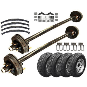 6000 lb Heavy Duty Tandem Axle TK Trailer Kit - 12K Capacity - (Original Series)