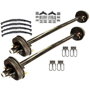 6000 lb TK Tandem Axle HD Kit - 12K Capacity (Axle Series)