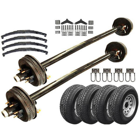 52k Tandem Axle HD TK Trailer kit 10400 lb Capacity