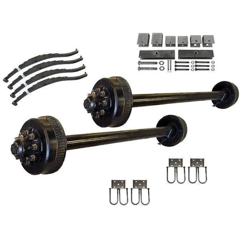 9000 lb TK Tandem Axle Kit - 18K Capacity (Axle Series) - (Please Call for Availability)