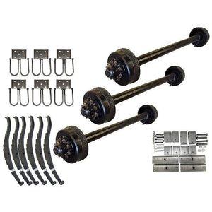 9000 lb TK Triple Axle Kit - 27K Capacity (Axle Series)