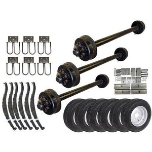 9k Triple Axle TK Trailer kit - 27000 lb Capacity (Original Series)