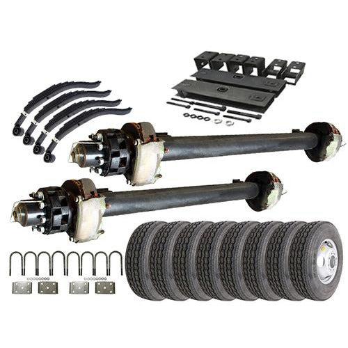12k Tandem Axle Hydraulic TK Trailer kit - 24000 lb Capacity