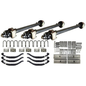 12,000 lb TK Triple Axle Hydraulic Kit - 36K Capacity