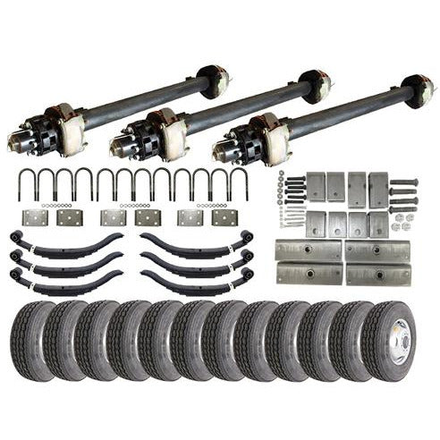 12k Triple Axle Hydraulic TK Trailer kit - 36000 lb Capacity