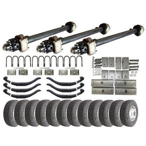 12k Triple Axle Hydraulic TK Trailer kit - 36000 lb Capacity (Original Series)