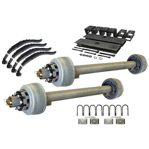 12,000 lb TK Tandem Axle Kit - 24K Capacity (Axle Series)