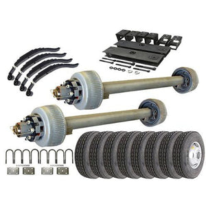 12k Tandem Axle TK Trailer kit - 24000 lb Capacity (Original Series)