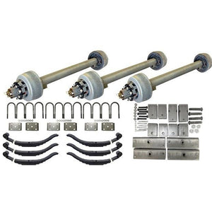 12,000 lb TK Triple Axle Kit - 36K Capacity