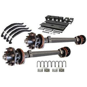 15,000 lb TK Tandem Axle Hydraulic Kit - 30K Capacity (Axle Series)