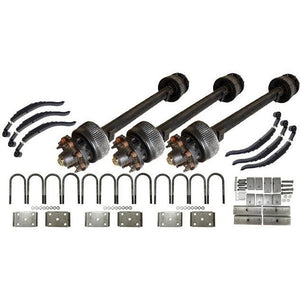 15,000 lb TK Triple Axle Kit - 45K Capacity (Axle Series)