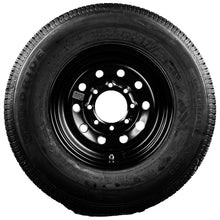 "Goodride 16"" 10 Ply Radial Trailer Tire & Wheel - ST235/80 R16 8 Lug (Black Mod)"
