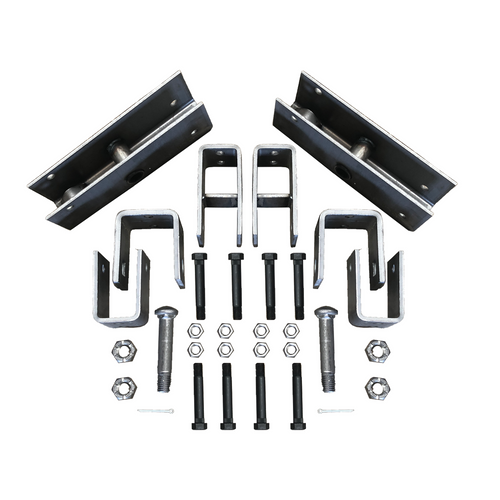 Trailer Tandem Slipper Hanger Kit for 5200 - 8000 lb axles