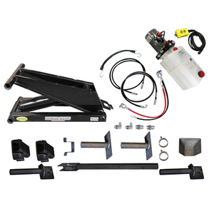 Dump Trailer Hydraulic Scissor Hoist / Lift Kit - 16000 lb - PH516