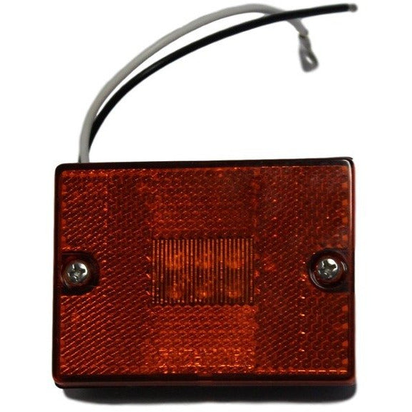 Stud Mount LED Marker/Clearance Light with Reflex - Red - 6 Diodes - MCL36RB