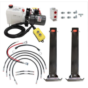12K Double Hydraulic Trailer Jack Kit