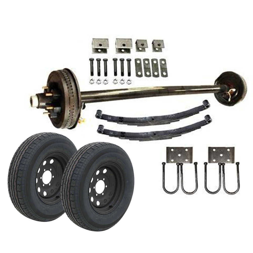 6k Single Axle TK Trailer kit - 6000 lb Capacity (Midnight Series)