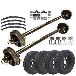 6k Tandem Axle TK Trailer kit - 12000 lb Capacity (Midnight Series)