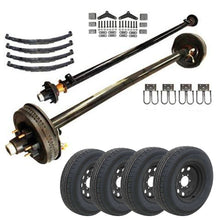 6k Tandem Axle LD TK Trailer kit - 12000 lb Capacity (Midnight Series)