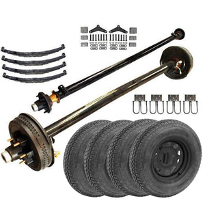 5.2k Tandem Axle LD TK Trailer kit - 10400 lb Capacity (Midnight Series)