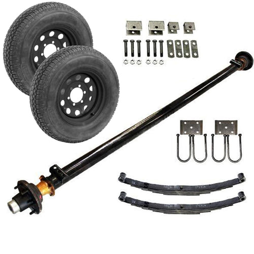 5.2k Single Axle TK Trailer kit - 5200 lb Capacity (Midnight Series)