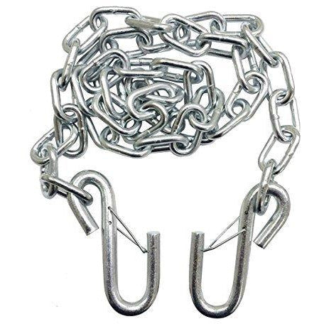 Silver Trailer Safety Chains - 1/4x61